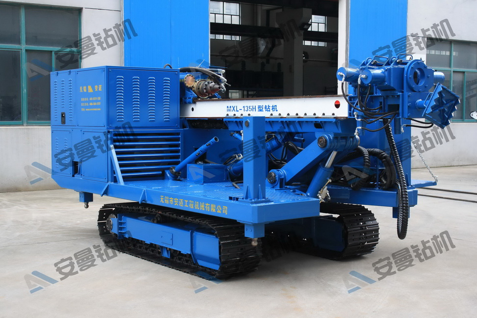 MXL-135H Deep Foundation Crawler Drilling Rig