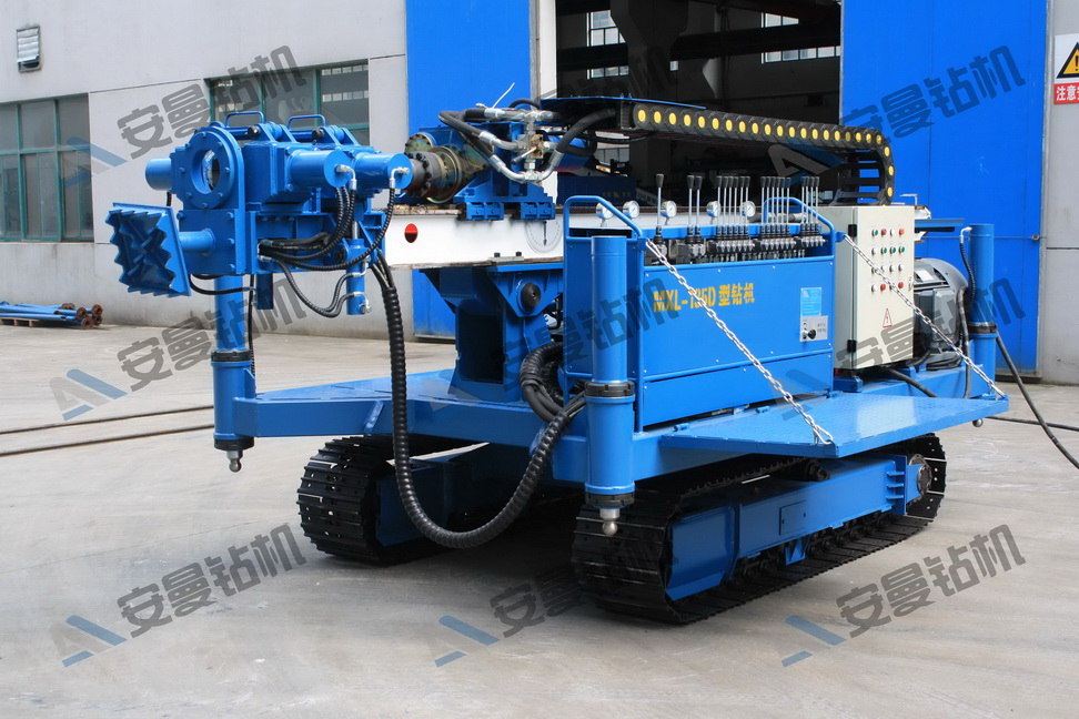 MXL-135D Deep Foundation Crawler Drilling Rig